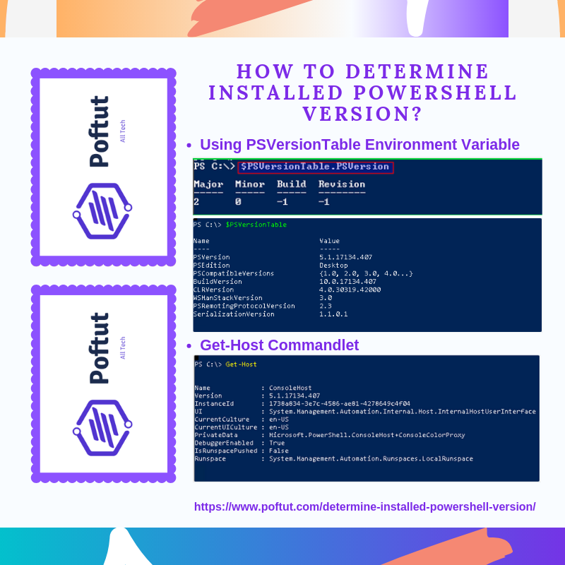 How To Determine Installed Powershell Version? Infografic