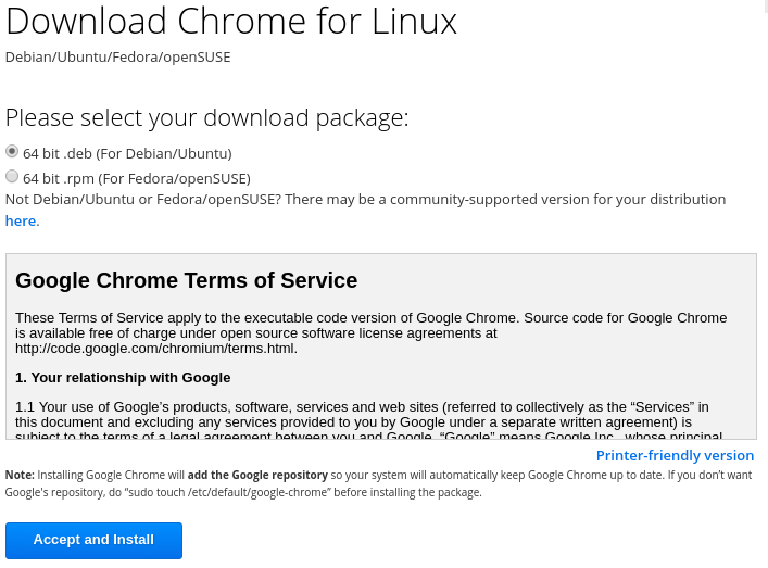 How To Install Google Chrome Linux, Ubuntu, Fedora? – POFTUT