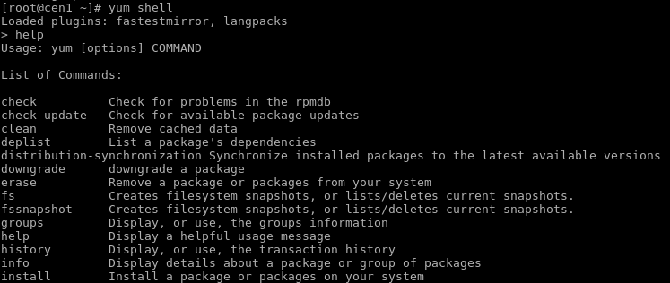 Yum Command Tutorial With Examples For Linux Package