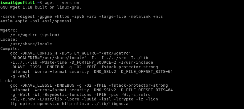 Wget Command Tutorial With Examples For Linux and Windows – POFTUT