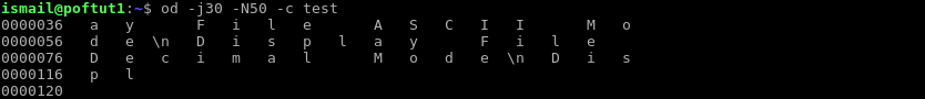 Hexadecimal Specify Start and Length Of Displayed Bytes