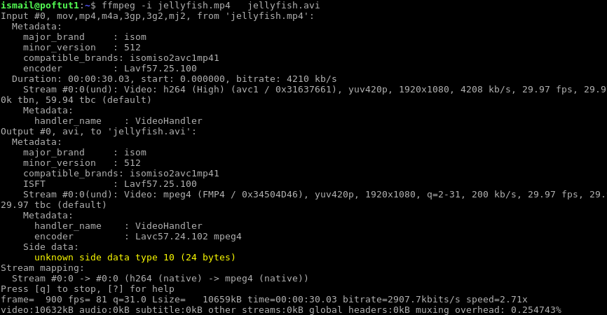 Ffmpeg Command Tutorial With Examples For Video and Audio – POFTUT