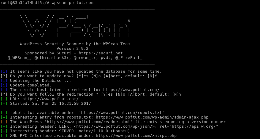 Run Wpscan Without Option