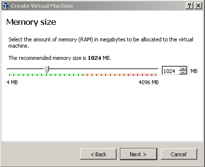 Set Memory or RAM