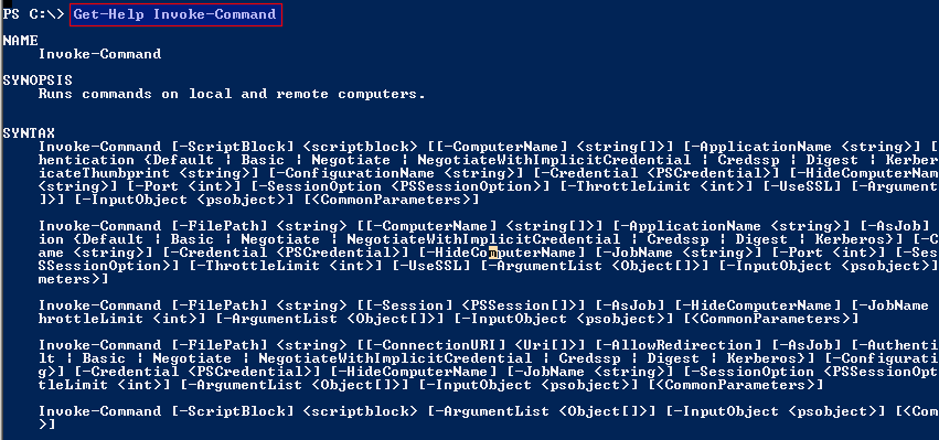 Run Commands In Local and Remote System With Powershell Invoke