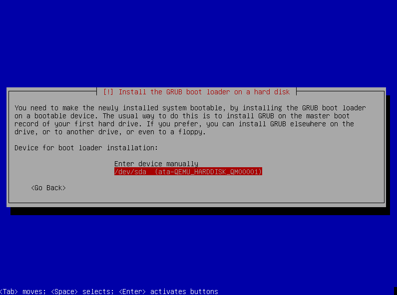 Select Boot Disk