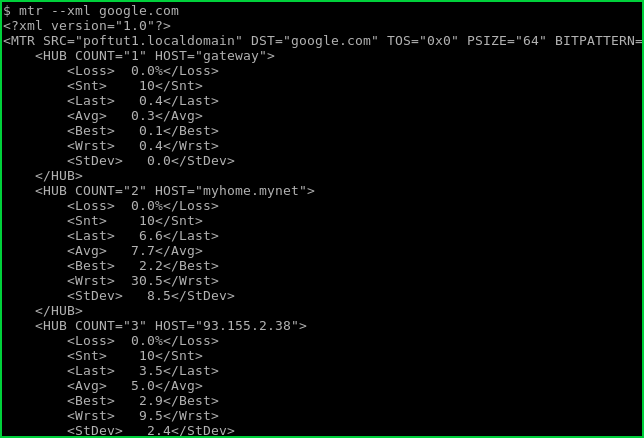 Linux Mtr Command Tutorial with Examples To Network Diagnostics – POFTUT
