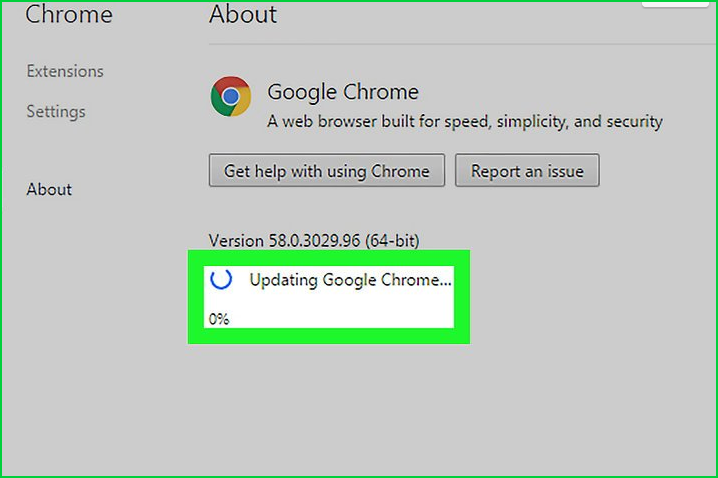 Update Google Chrome For Windows Operating Systems