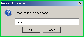 Add New Preference