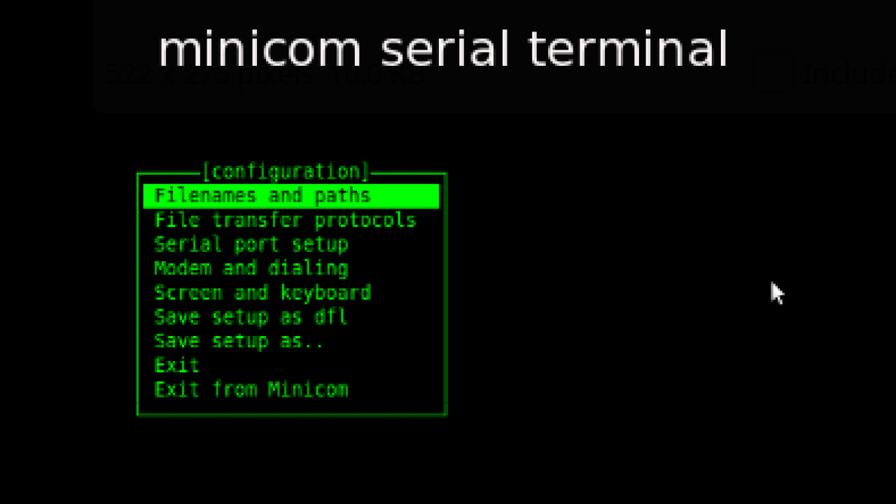 How To Install and Use Linux Minicom Command Tutorial with