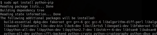 Install For Python 2 On Ubuntu, Debian, Mint, Kali