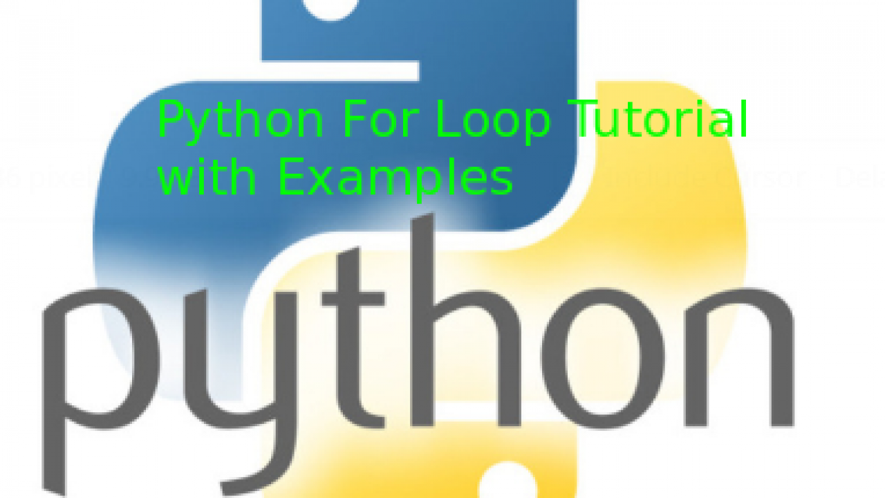 Python For Loop Tutorial with Examples – POFTUT