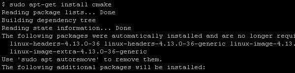 CMake Installation