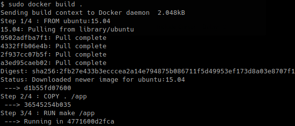 build - Build Docker Image From Docker File