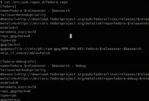 Look In Detail Repository Configuration