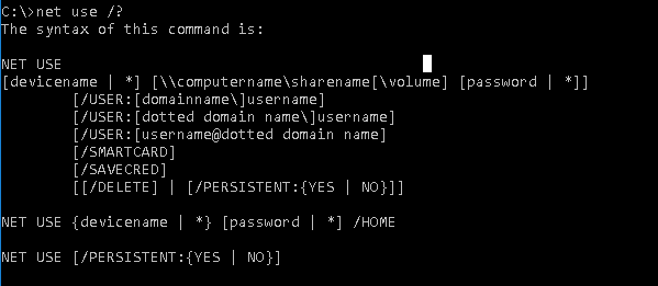 How To Use Net Use Command In Windows Command Line? – POFTUT