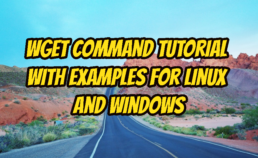 how to use wget in linux