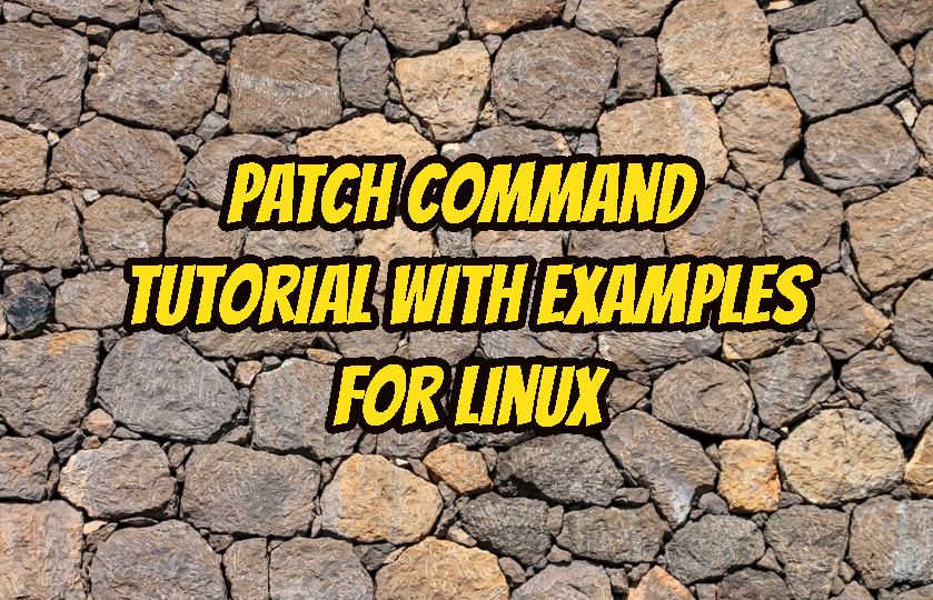 patch command in linux example