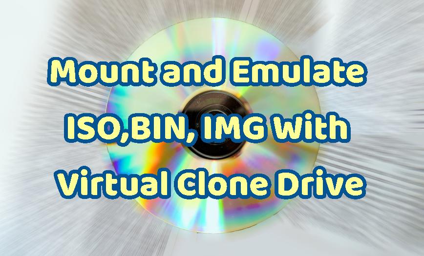 Drive virtual linux clone
