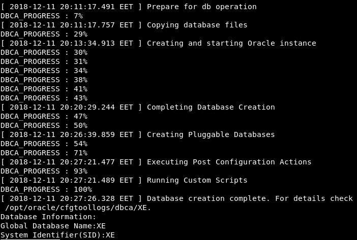 How To Install Oracle Express Edition (XE) 18 On Linux? – POFTUT