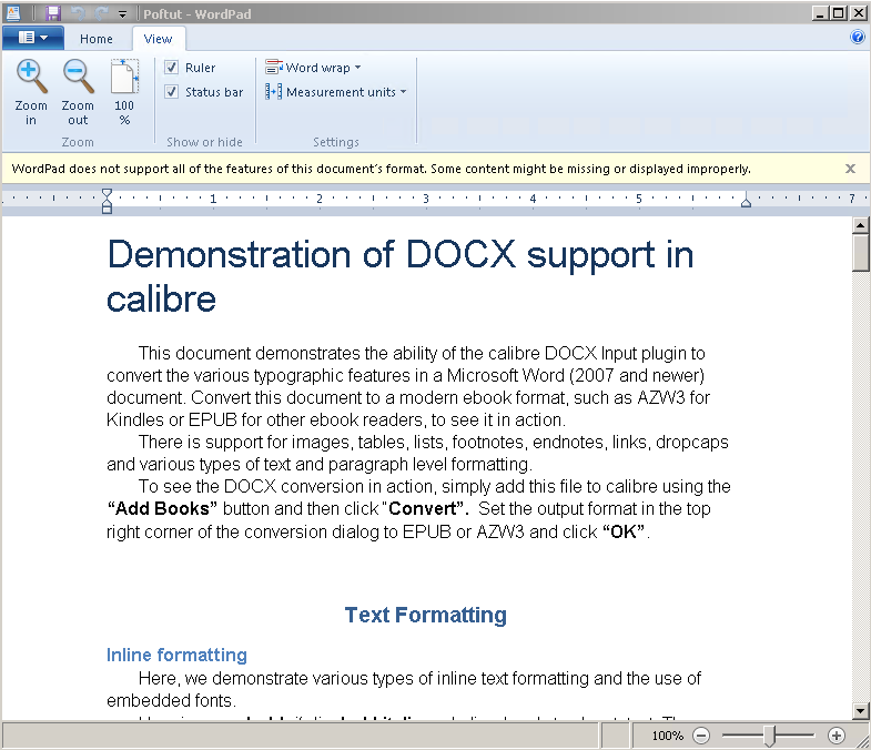 Free Light DOC and DOCX Viewers