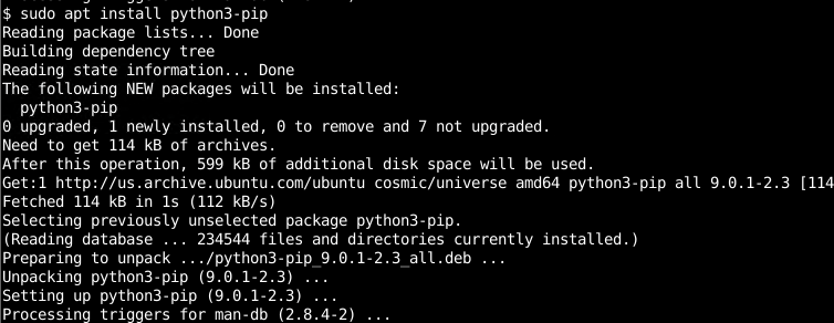 Install For Python 3 On Ubuntu, Debian, Mint, Kali