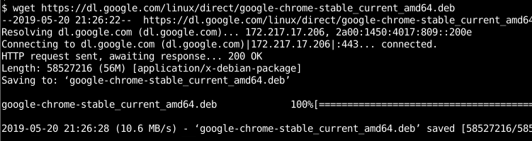 Install Google Chrome From Downloaded Deb Package