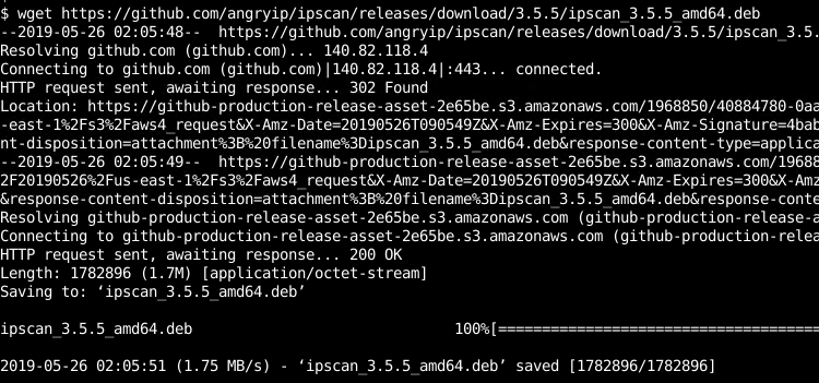 Download Angry IP Scanner Debian,Ubuntu, Mint