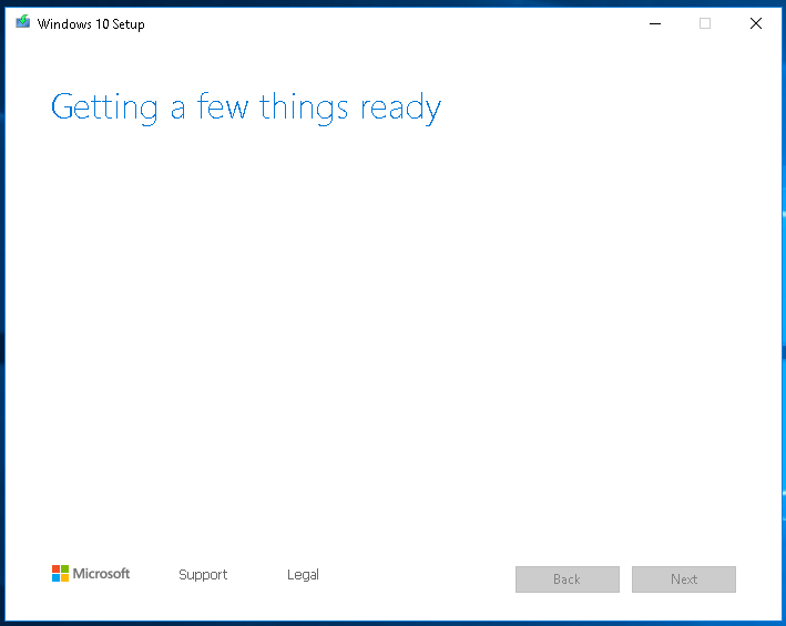 Windows 10 Setup Getting Started