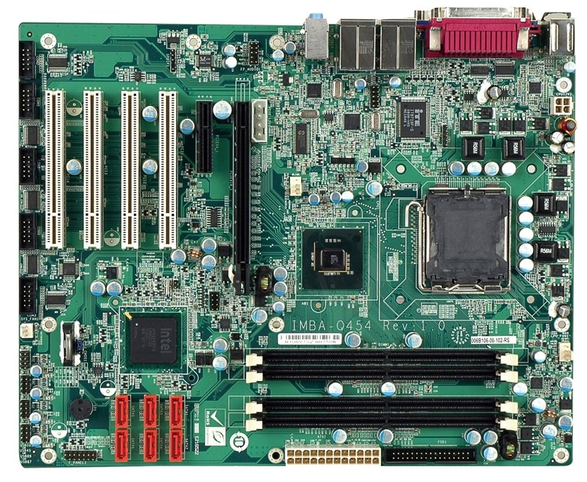 ATX or Full ATX Form Factor Motherboard