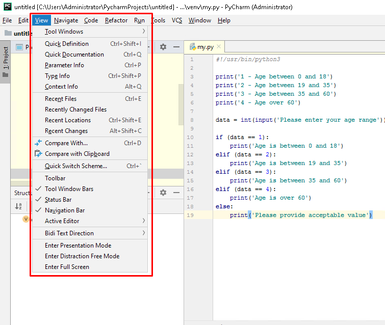 IDE Components