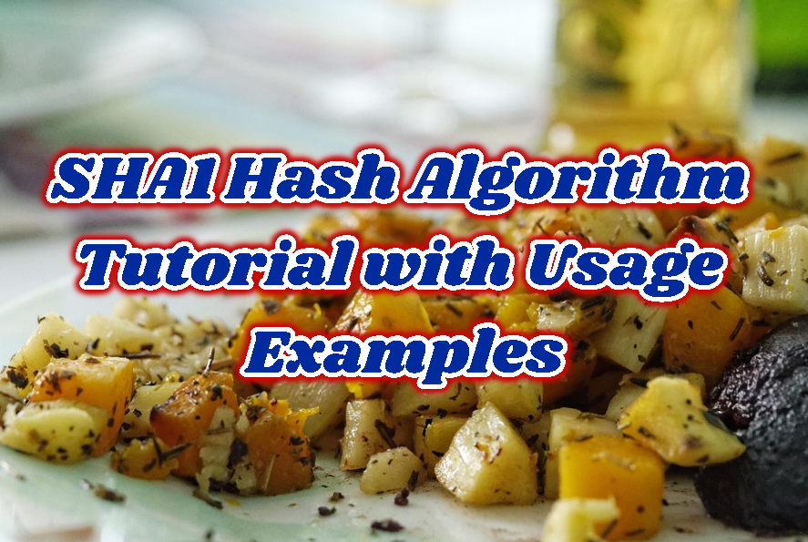 SHA1 Hash Algorithm Tutorial with Usage Examples