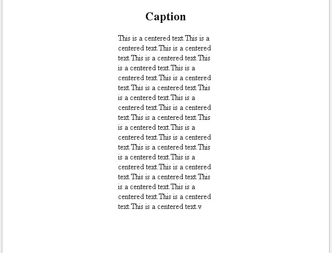 Centering a Block Of Text Or Image