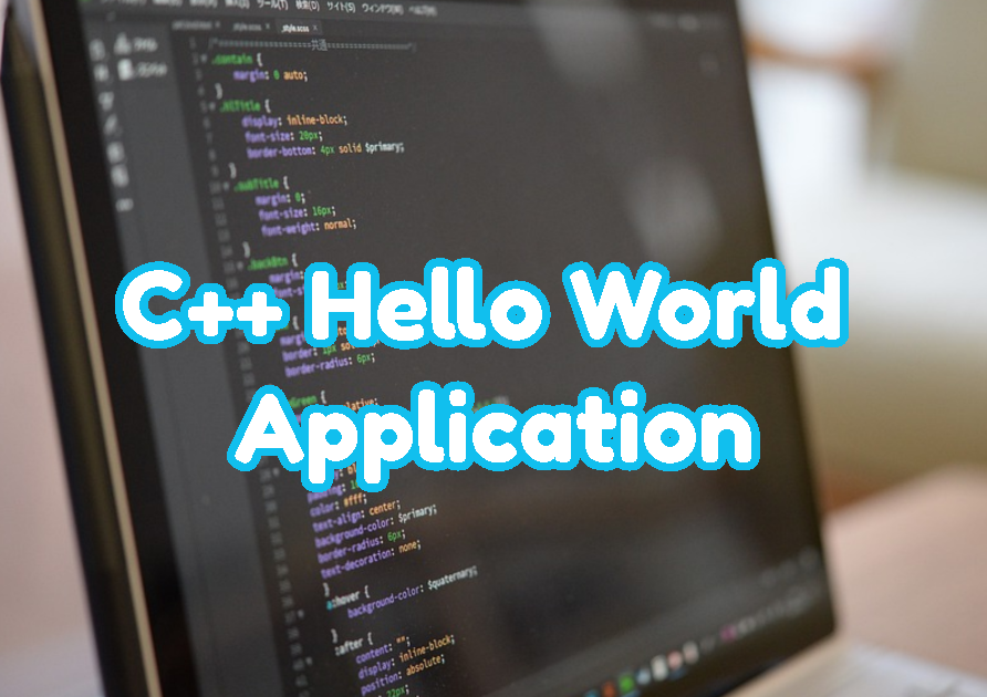 C++ Hello World Application