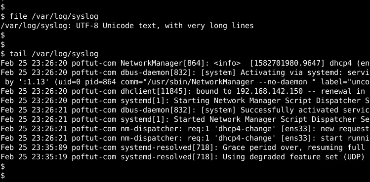 Linux Syslog