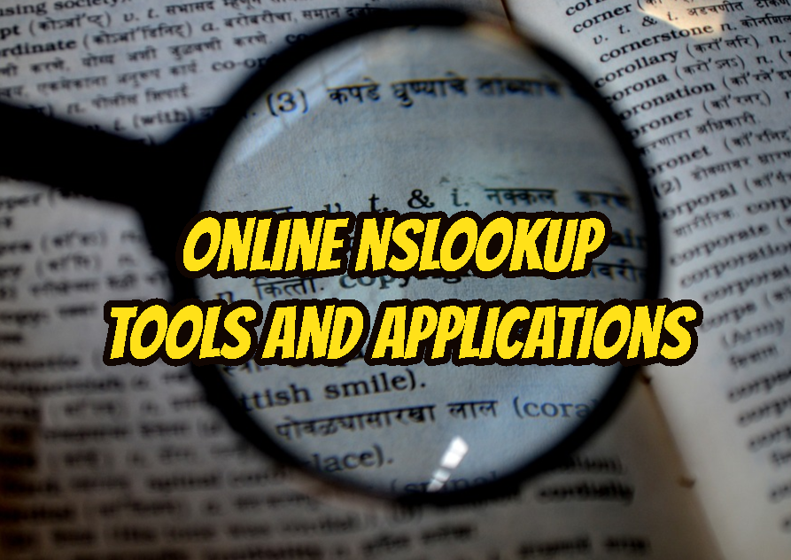 Online nslookup Tools and Applications