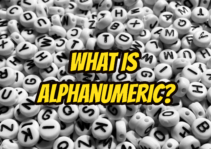 What Is Alphanumeric?