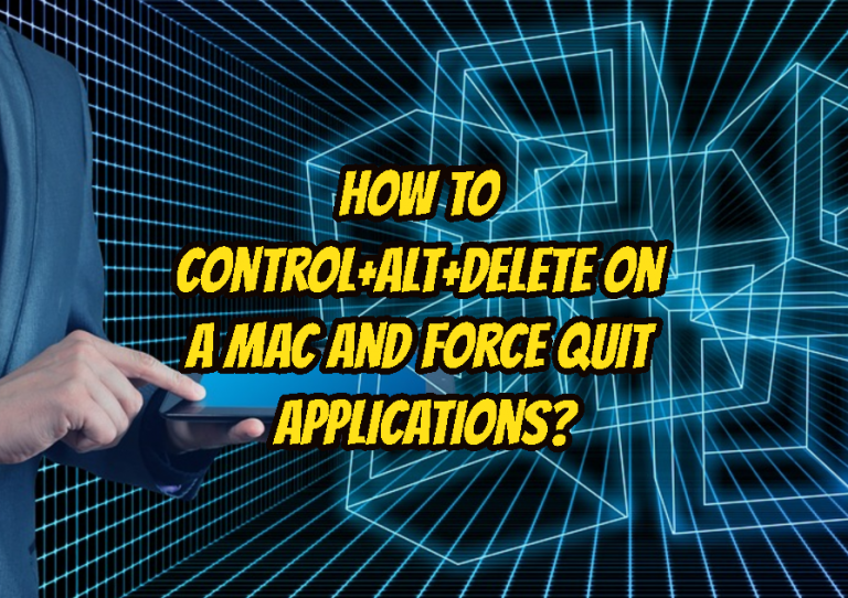 How to Control+Alt+Delete on a Mac and Force Quit Applications? - POFTUT