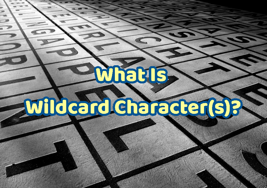 What Is Wildcard Character(s)?