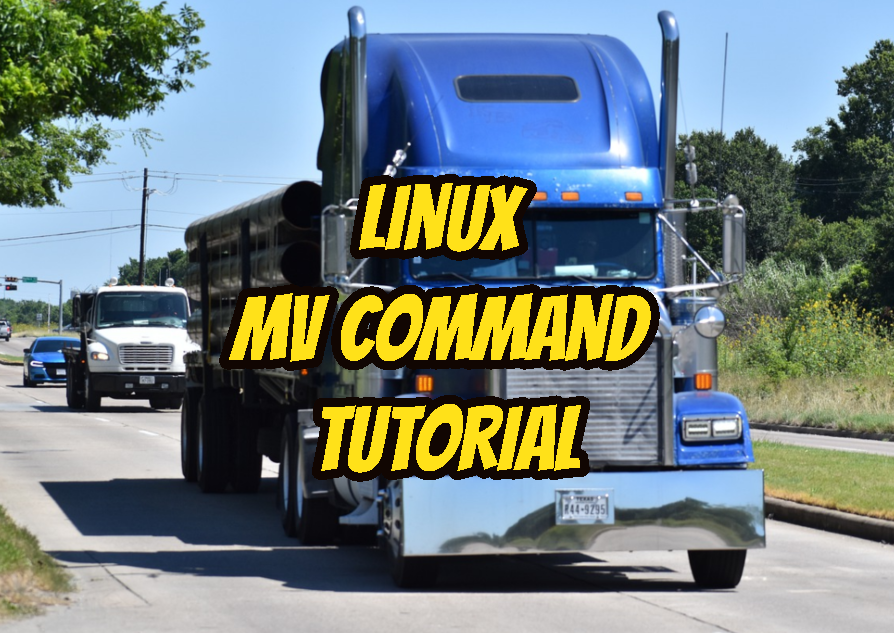 Linux mv Command Tutorial