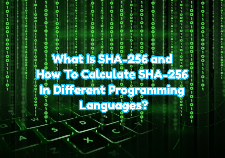 What Is SHA-256 and How To Calculate SHA-256 In Different Programming Languages?